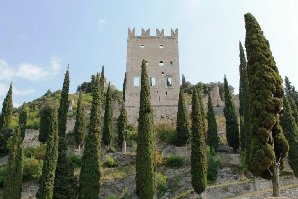 Castello di Arco - Facciata