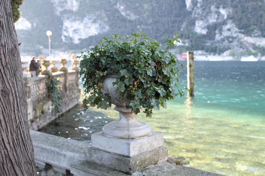 Riva del Garda - Lungolago d'inverno