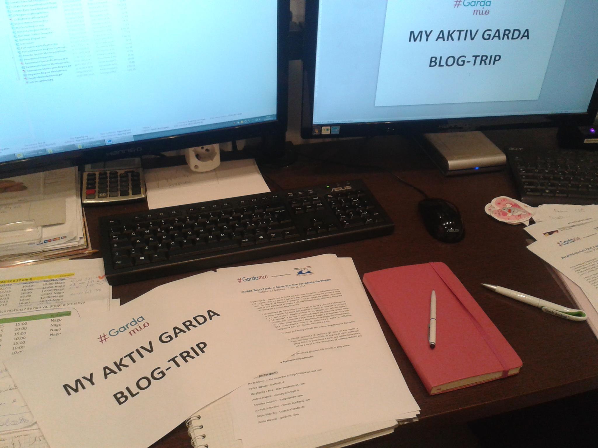 Come organizzare un blog tour: la mia versione di #myAktivGarda