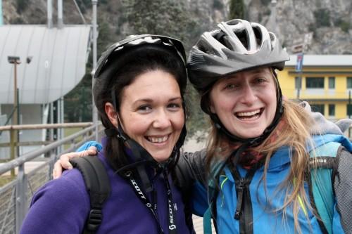 MyAktivGarda Blog Tour - Pronte alla partenza in mountainbike
