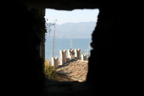 Finestra del castello di Torri