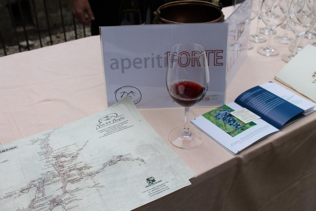Aperitiforte con vini autoctoni trentini