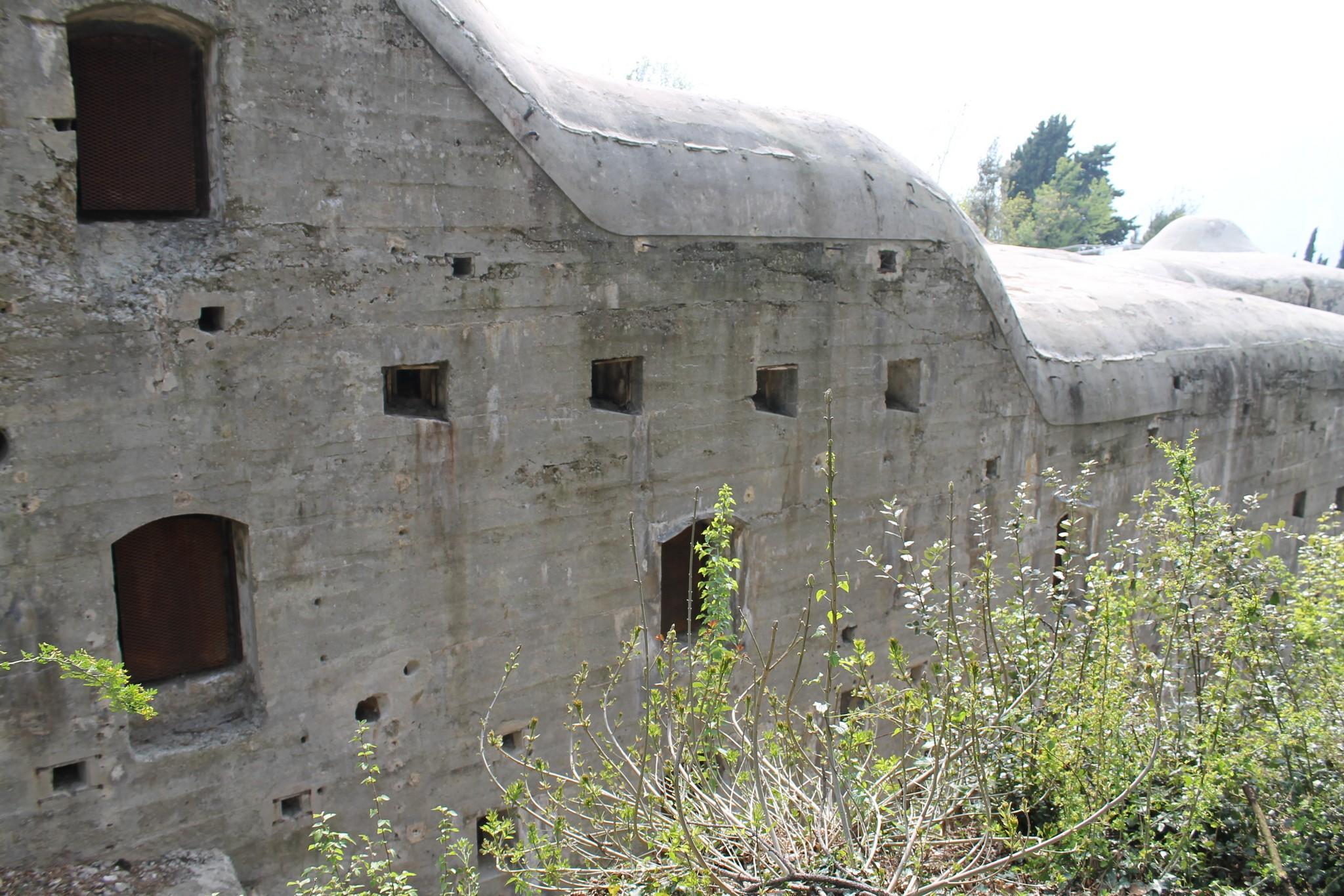 Forte Garda sul Monte Brione #troppoforte!