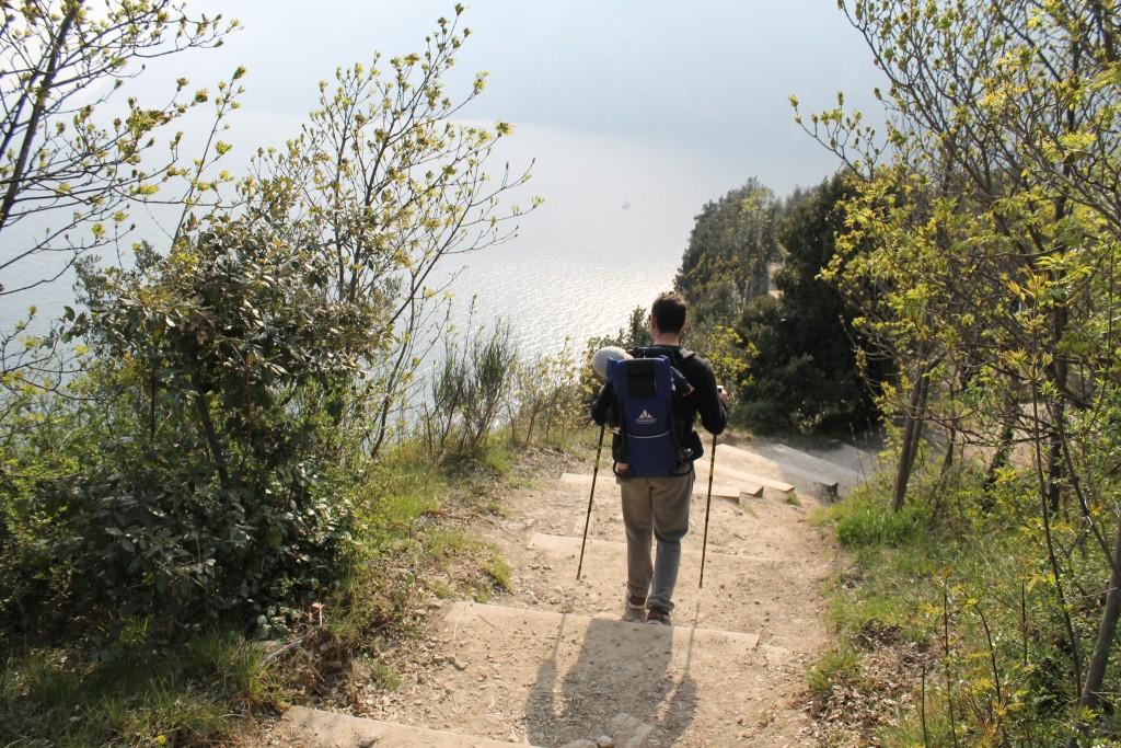 Trekking sul Monte Brione