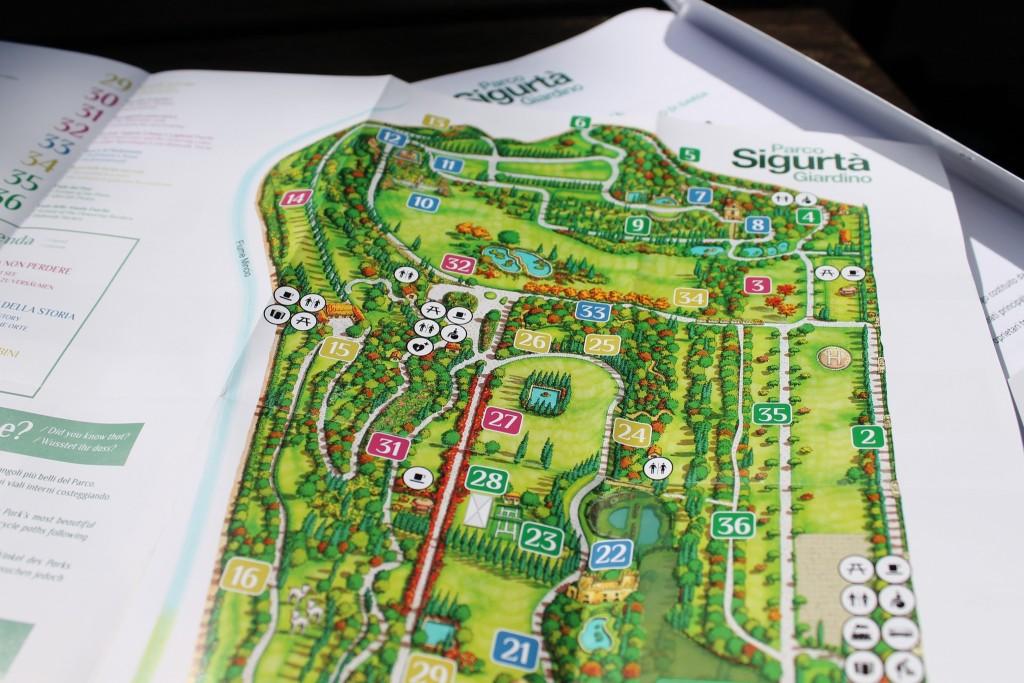 Parco Sigurtà - Mappa