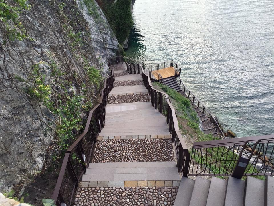 scalinata malcesine