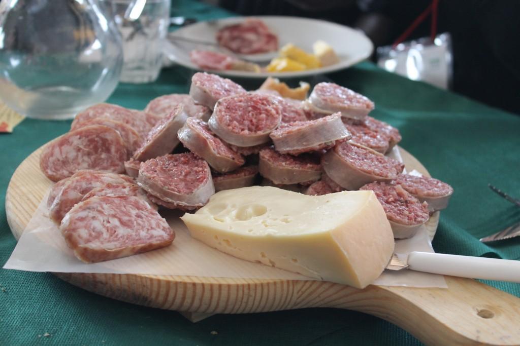 Salumi e formaggio veneto