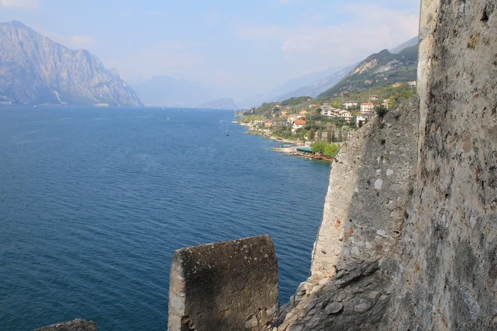 Panorama castello malcesine