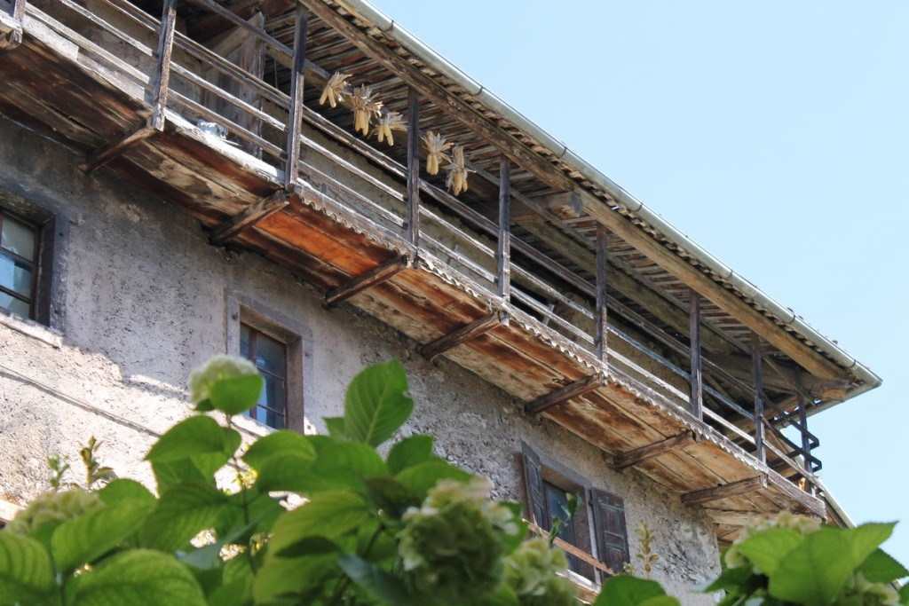 pannocchie sui balconi
