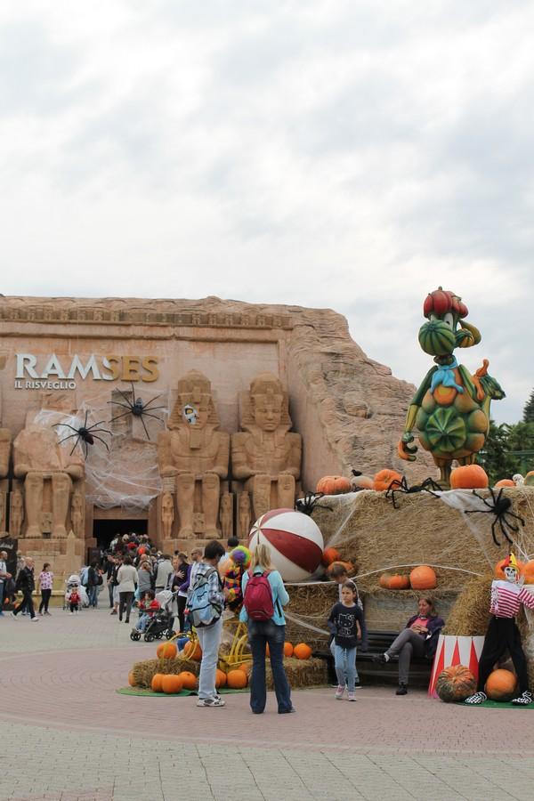 Gardaland Halloween ramses