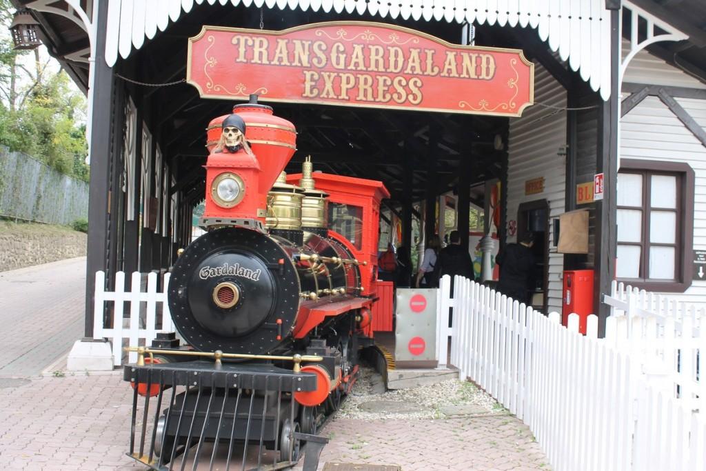 Gardaland Halloween treno