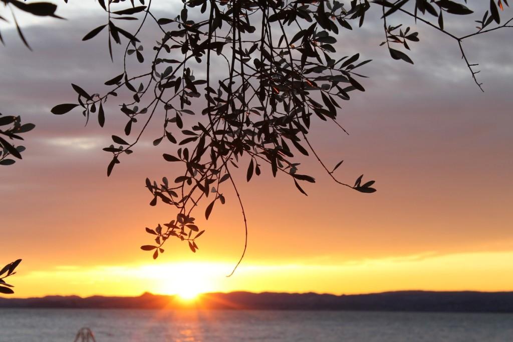 tramonto lazise