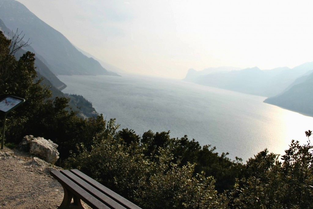 sentiero panoramico lago di garda