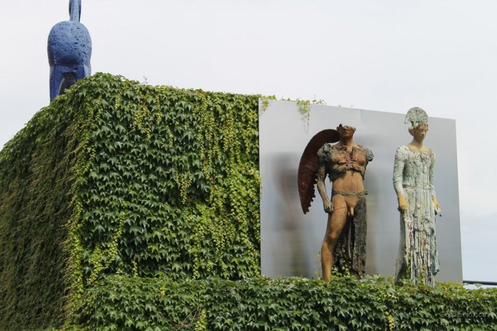 vittoriale gardone statue