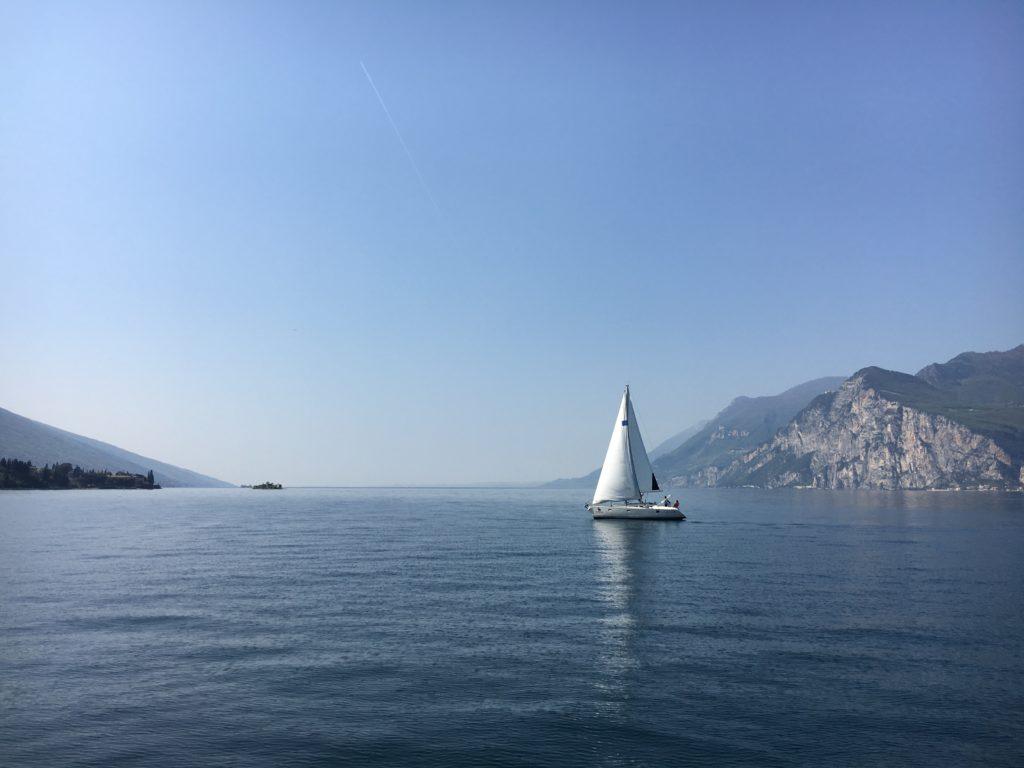 vela lago di garda