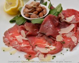 Carpaccio di carne salada