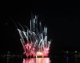 fuochi d'artificio lago di garda
